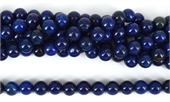 Lapis Dyed Polished Round 10mm NOT COLOUR FAST-beads incl pearls-Beadthemup