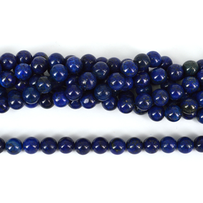 Lapis Dyed Polished Round 10mm NOT COLOUR FAST