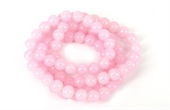 Glass bead strand 80cm long 10mm Pink-glass beads-Beadthemup