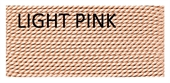 Griffin Silk thread Light Pink 2m+needle-silk thread-Beadthemup