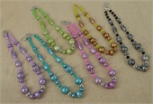 Whitsunday Glass Necklace Kit 50cm-bead inspired projects-Beadthemup