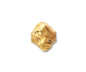 14k Gold filled bead Twist 10x8.7mm 2 pack-14k gold filled-Beadthemup
