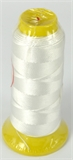 White Polyester knotting thread 4 sizes-stringing-Beadthemup