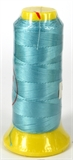 Aqua Polyester knotting thread 4 sizes-polyester knotting thread-Beadthemup