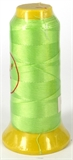 Lime Polyester knotting thread 4 sizes-stringing-Beadthemup