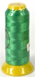 Green Polyester knotting thread 4 sizes-stringing-Beadthemup