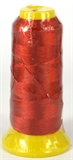 Red Polyester knotting thread 4 sizes-stringing-Beadthemup