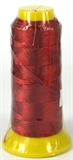 Garnet Polyester knotting thread 4 sizes-stringing-Beadthemup