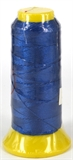 Blue Polyester knotting thread 4 sizes-stringing-Beadthemup