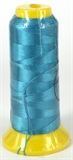 Dk Aqua Polyester knotting thread 4 size-stringing-Beadthemup