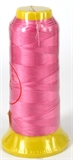 Candy Pink Polyester knotting thread-polyester knotting thread-Beadthemup