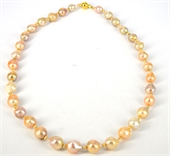 14k Gold filled 65cm Fresh Water Pearl necklace-necklaces-Beadthemup