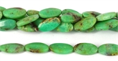 Chrysophase Polished Flat Oval 12x25mm beads per strand 16-chrysophase-Beadthemup