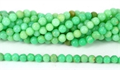 Chrysophase Polished Round 6mm beads per strand 70-chrysophase-Beadthemup