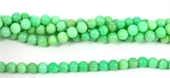 Chrysophase Polished Round 7-8mm beads per strand 50-chrysophase-Beadthemup