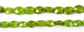 Peridot Faceted oval approx 10x9mm EACH-peridot-Beadthemup