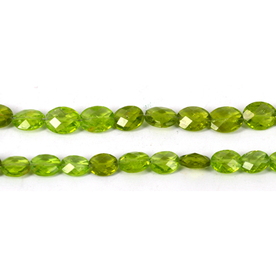 Peridot Faceted oval approx 10x9mm EACH