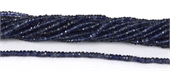 Natural Iolite Faceted Rondel 3x2mm strand-iolite-Beadthemup