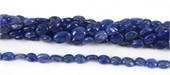 Tanzanite Polished Oval 9x7mm strand-tanzanite-Beadthemup