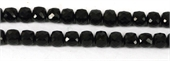 Onyx Faceted Cube 8mm EACH-onyx-Beadthemup