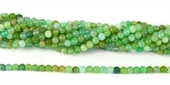 Chrysoprase Polished Round 6mm beads per strand 72Beads-chrysophase-Beadthemup