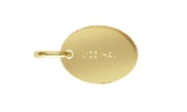 14k Gold Filled Quality tag 7.3x5.5mm 5 pack-14k gold filled-Beadthemup