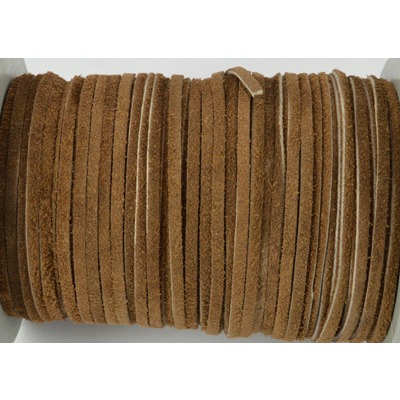 Suede 3mm Brown Per Meter