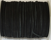 Leather 2mm Black Per Meter-suede and faux suede-Beadthemup