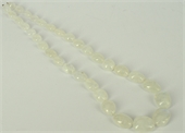 Moonstone A polished nuggets Grad.11-19mm 49cm strand-moonstone-Beadthemup
