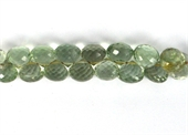 Amethyst Green Faceted Onion Approx  8x8mm EACH bead-briolette shape-Beadthemup