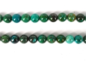 Chrysocolla AAA polished round 10mm 40 beads per strand-chrysocolla-Beadthemup