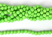 Howlite Dyed Green lime Round 10mm strand 42 beads-howlite-Beadthemup