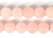 Rose Quartz Matt round 14mm EACH bead-rose quartz-Beadthemup
