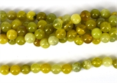 Korean Jade Polished Round 10mm Strand 40 beads per strand-jade-Beadthemup