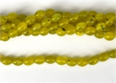 Korean Jade Polished Olive 8x10mm Strand 39 beads-jade-Beadthemup