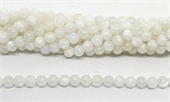 Moonstone A Polished round 8mm Strand 47 beads-beads incl pearls-Beadthemup