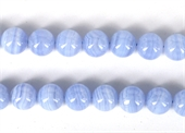Blue Lace Agate polished round 12mm Strand 32 beads-blue lace agate-Beadthemup
