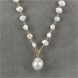 "F.W.Pearl Pendant OR ""Y"" style necklace-jewellery-Beadthemup"