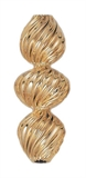 14k Gold filled twist large candy bead 9.5x22mm EACH-findings-Beadthemup