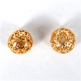 14k Gold Filled bead round filligree 12mm 1 pack-14k gold filled-Beadthemup
