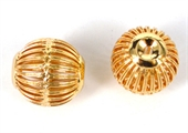 14k Gold filled bead oval extra large 17x19mm 1 pack-14k gold filled-Beadthemup
