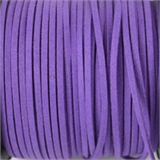 Faux Suede 3mm Purple per M-suede and faux suede-Beadthemup