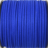 Faux Suede 3mm Royal Blue per Meter-stringing-Beadthemup