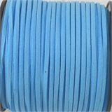 Faux Suede 3mm Blue per Meter-stringing-Beadthemup