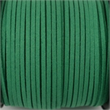 Faux Suede 3mm Jade Green per Meter-suede and faux suede-Beadthemup
