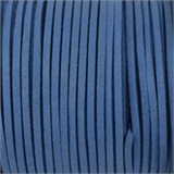 Faux Suede 3mm Tanzanite Blue per Meter-suede and faux suede-Beadthemup