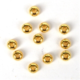 14K Gold filled Bead Rondel Rounded 6mm 4 pack-14k gold filled-Beadthemup