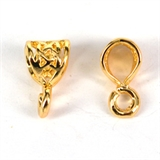14k Gold Filled Bail 6.5x12.5mm 1 Pack-14k gold filled-Beadthemup