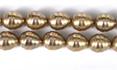Shell Based Pearl Beige Teardrop 17x14mm str 24 beads-shell based pearls-Beadthemup