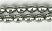 Shell Based Pearl Silver Teardrop 17x14mm per PAIR-shell based pearls-Beadthemup
